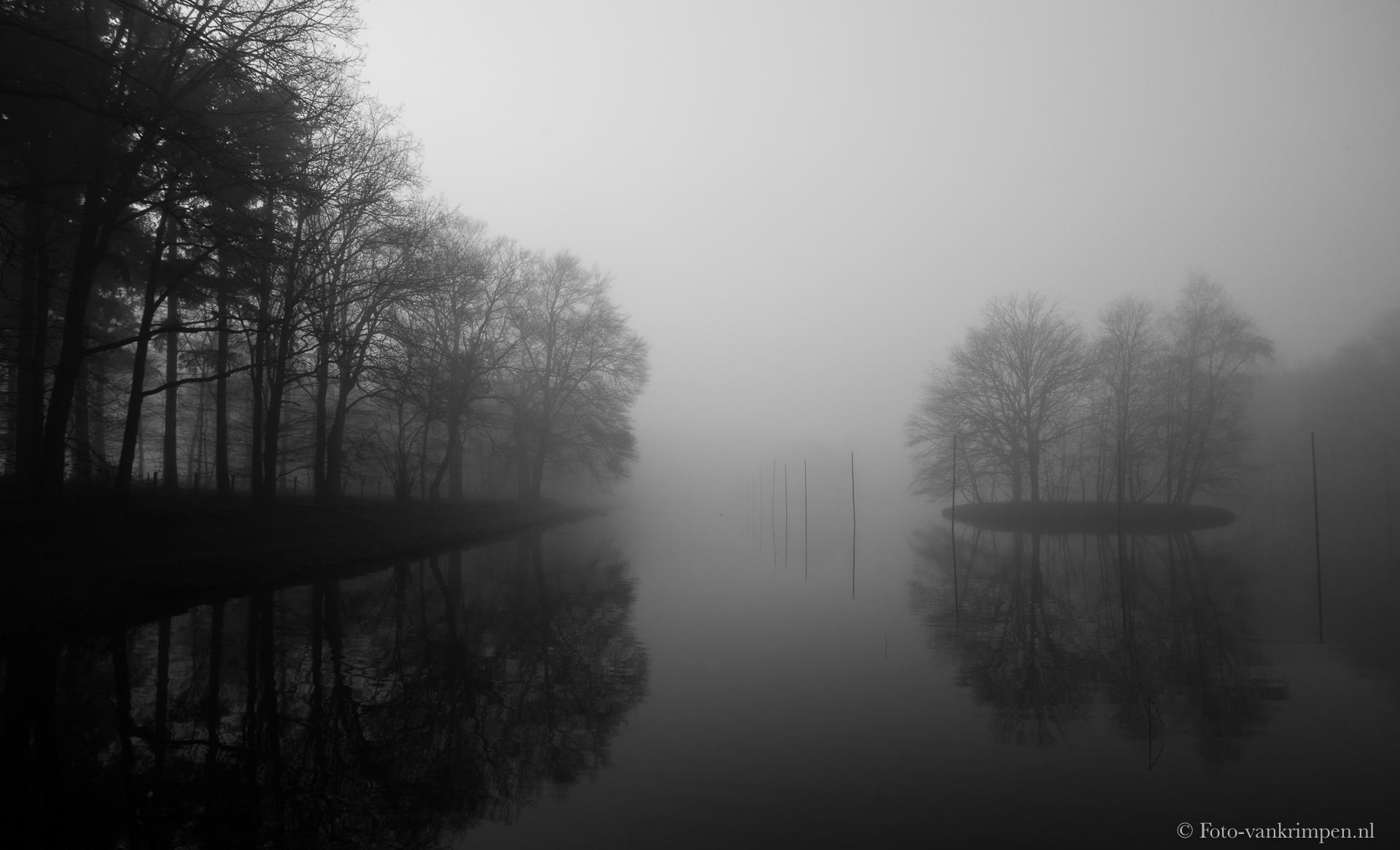 Eilanden in de mist
